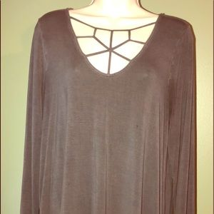 American Eagle Soft and Sexy Long Sleeve Blouse L